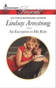An Exception to His Rule ebook by Lindsay Armstrong