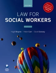 Law for Social Workers ebook by Hugh Brayne,Helen Carr,David Goosey