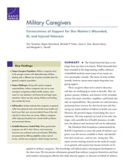 Military Caregivers - Cornerstones of Support for Our Nation's Wounded, Ill, and Injured Veterans ebook by Terri Tanielian,Rajeev Ramchand,Michael P. Fisher,Carra S. Sims,Racine Harris