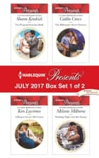 Harlequin Presents July 2017 - Box Set 1 of 2 - The Pregnant Kavakos Bride\A Ring to Secure His Crown\The Billionaire's Secret Princess\Wedding Night with Her Enemy ebook by Sharon Kendrick, Kim Lawrence, Caitlin Crews,...