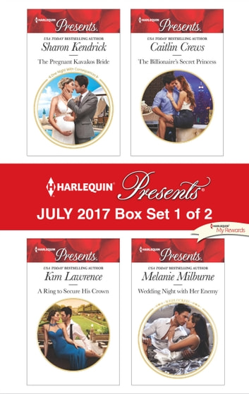 Harlequin Presents July 2017 - Box Set 1 of 2 - An Anthology 電子書 by Sharon Kendrick,Kim Lawrence,Caitlin Crews,Melanie Milburne