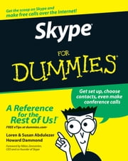Skype For Dummies ebook by Loren Abdulezer,Susan Abdulezer,Howard Dammond,Niklas Zennstrom