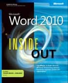Microsoft Word 2010 Inside Out ebook by Katherine Murray