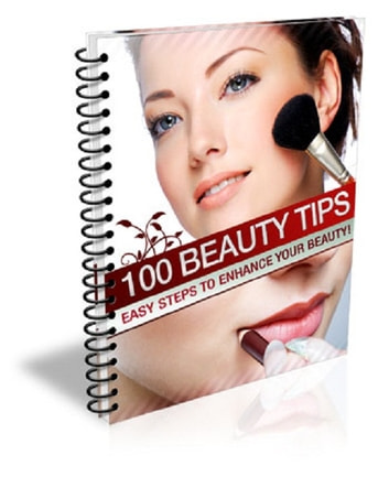 100 beauty tips  - 100 Beauty Tips PLR Report! 100% Satisfaction Guaranteed - Buy Now!