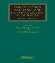 Construction Insurance ebook by Marshall Levine,Roger ter Haar