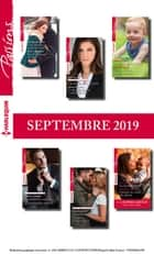 12 romans Passions + 1 gratuit (n°815 à 820 - Septembre 2019) ebook by