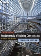 Fundamentals of Building Construction ebook by Edward Allen,Joseph Iano