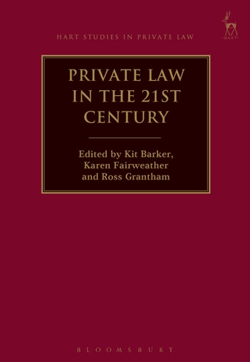 Private Law in the 21st Century ebook by