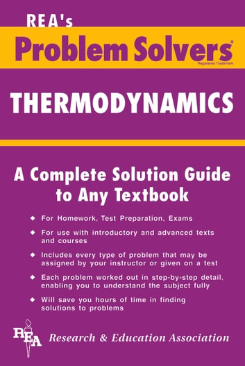 Thermodynamics problem solver ebook by the editors of rea thermodynamics problem solver ebook by the editors of rearalph pike fandeluxe Image collections