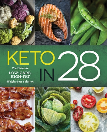 Keto in 28 - The Ultimate Low-Carb, High-Fat Weight-Loss Solution ebook by Michelle Hogan