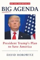 Big Agenda - President Trumps Plan to Save America ebook by David Horowitz