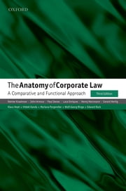 The Anatomy of Corporate Law - A Comparative and Functional Approach ebook by Reinier Kraakman, John Armour, Paul Davies,...