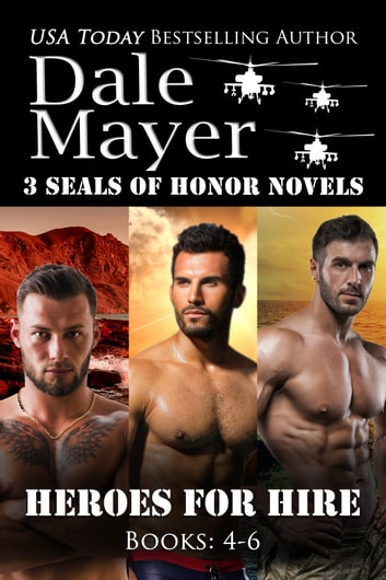 Heroes for Hire: Books 4-6 ebook by Dale Mayer