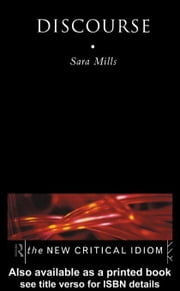 Discourse ebook by Mills, Sara
