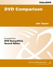 DVD Comparison ebook by Taylor, Jim