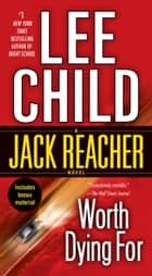 Worth Dying For ebook by Lee Child