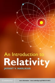 An Introduction to Relativity ebook by Jayant V. Narlikar