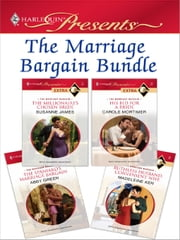The Marriage Bargain Bundle - An Anthology ebook by Susanne James, Carole Mortimer, Abby Green,...