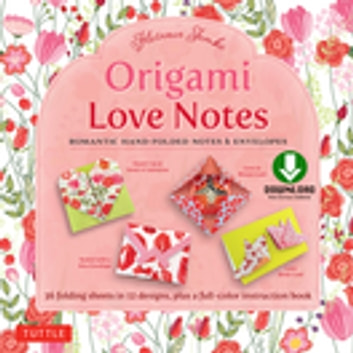 Origami Love Notes Ebook - Romantic Hand-Folded Notes & Envelopes: Origami Book with 12 Original Projects ebook by Florence Temko