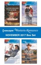 Harlequin Western Romance November 2017 Box Set - A Texas Soldier's Christmas\The Cowboy SEAL's Christmas Baby\A Snowbound Cowboy Christmas\The Bull Rider's Plan ebook by Cathy Gillen Thacker, Laura Marie Altom, Amanda Renee,...
