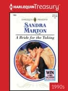 A Bride for the Taking ebook by Sandra Marton