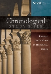 The Chronological Study Bible, NIV ebook by Thomas Nelson