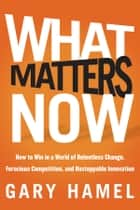 What Matters Now ebook by Gary Hamel