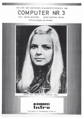 Computer Nr. 3 - as performed by France Gall, Single Songbook ebook by Georg Buschor,Christian Bruhn
