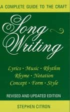Songwriting ebook by Stephen Citron