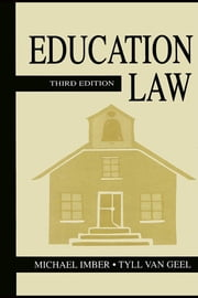 Education Law ebook by Imber, Michael