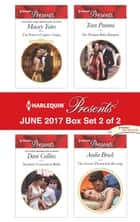 Harlequin Presents June 2017 - Box Set 2 of 2 - The Prince's Captive Virgin\Xenakis's Convenient Bride\The Drakon Baby Bargain\The Greek's Pleasurable Revenge ebook by Maisey Yates, Dani Collins, Tara Pammi,...