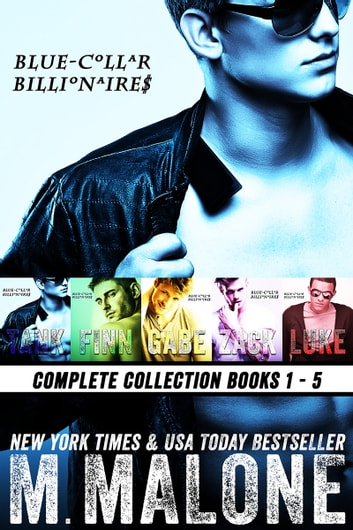 Blue-Collar Billionaires Boxset #1-5 ebook by M. Malone