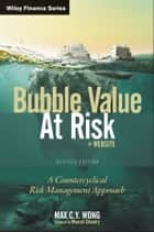 Bubble Value at Risk ebook by Max C. Y.  Wong