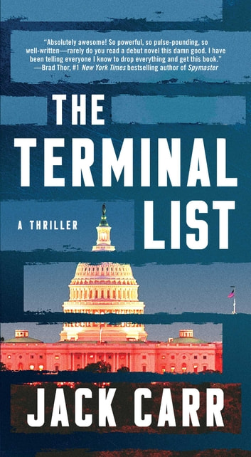 The Terminal List - A Thriller e-bog by Jack Carr
