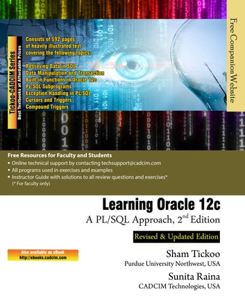 Learning Oracle 12c: A PL/SQL Approach