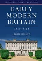 Modern Britain, 1750 to the Present ebook by James Vernon