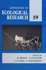 Advances in Ecological Research ebook by Begon, M.