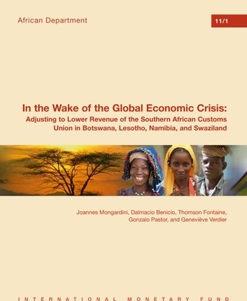In the Wake of the Global Economic Crisis: Adjusting to Lower Revenue of the Southern African Customs Union in Botswana, Lesotho, Namibia, and Swaziland ebook by Thomson Fontaine,Dalmacio Benicio,Joannes Mr. Mongardini,Geneviève Verdier,Gonzalo Mr. Pastor