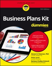 Business Plans Kit For Dummies ebook by Steven D. Peterson,Peter E. Jaret,Barbara Findlay Schenck