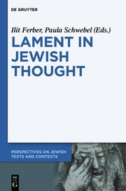 Lament in Jewish Thought - Philosophical, Theological, and Literary Perspectives ebook by Ilit Ferber,Paula Schwebel