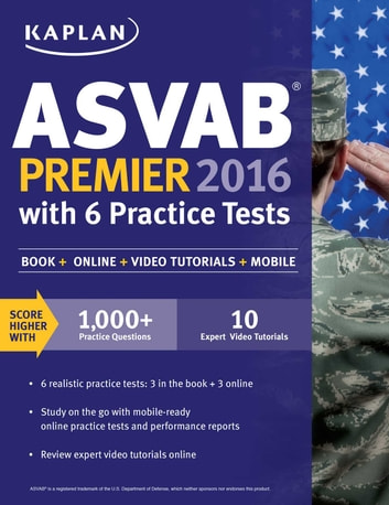 Kaplan asvab premier 2016 with 6 practice tests ebook di kaplan test kaplan asvab premier 2016 with 6 practice tests book online ebook by kaplan test fandeluxe Choice Image