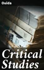 Critical Studies ebook by