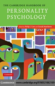 The Cambridge Handbook of Personality Psychology ebook by Corr, Philip J.