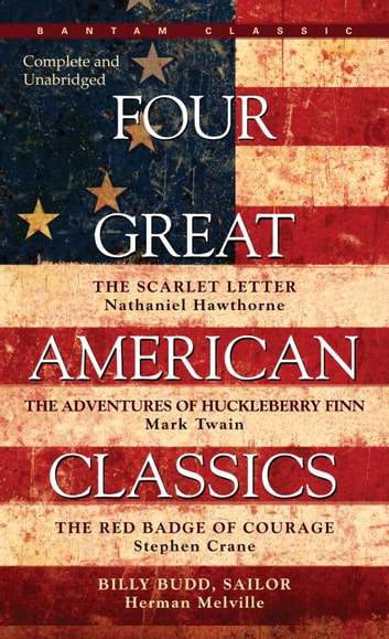 Four Great American Classics ebook by Herman Melville,Mark Twain,Stephen Crane,Herman Melville
