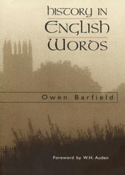 History in English Words ebook by Owen Barfield