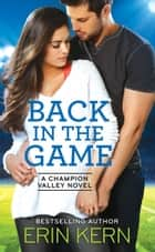 Back in the Game ebook by Erin Kern