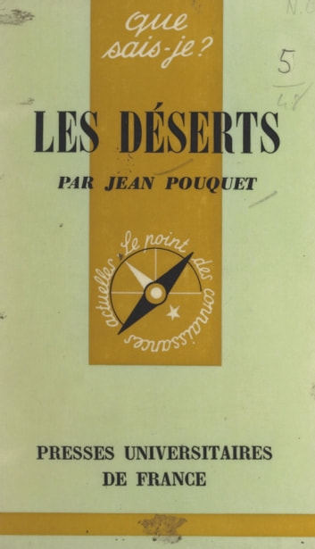 Les déserts eBook by Jean Pouquet,Paul Angoulvent