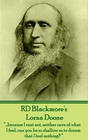 Lorna Doone ebook by RD Blackmore