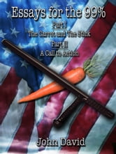 Essays for the 99% - The Carrot and The Stick - A Call to Action ebook by John David