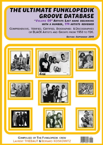 "THE ULTIMATE FUNKLOPEDIK GROOVE DATABASE #2 - Volume ""0-9"" (Sept. 2015) ebook by Bernard KOSKOWITZ,Laurent THIEBAUT"
